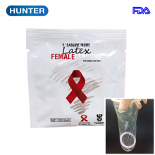 Good selling modern design female condom in use