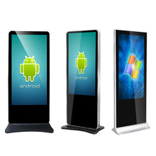 42 inch Stand Alone advertising lcd Video Display touch screen Android Digital Signage with digital signage software