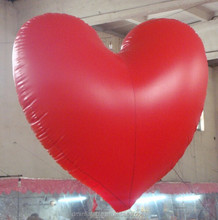 hanging inflatable valentine's day heart balloon