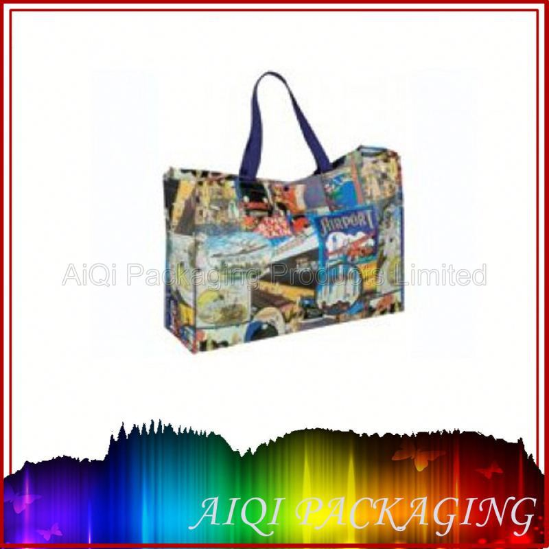 christmas non woven ribbon bag/Cotton packaging bag