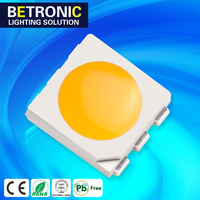 SMD LED CHIP 0.5W WARM WHITE 2800-3200K LED LIGHT EMITTING DIODE 5050 SMD