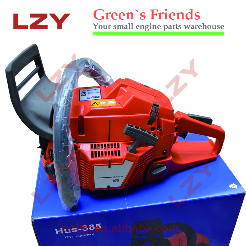 65cc chainsaw hus 365 gasoline chain saw with high performance