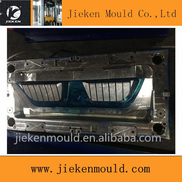 China supplier manufacturing plastic car parts mould for ABS grill