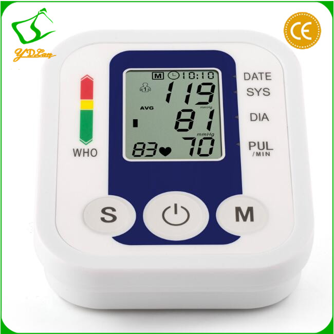 blood pressure monitor with pulse tracking