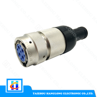 Industrial Cable Connector 9 Pin Plug