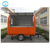 popular lowest price mobile food cart with frozen yogurt machine street food kiosk cart for sale mobile food cart