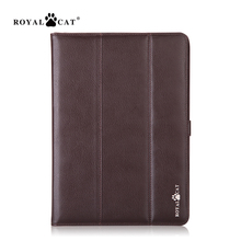 slim business genuine leather case cover for ipad 2017