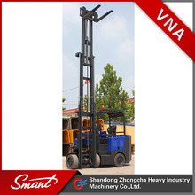 China Very Narrow Aisle articulated Forklift reach truck with CE