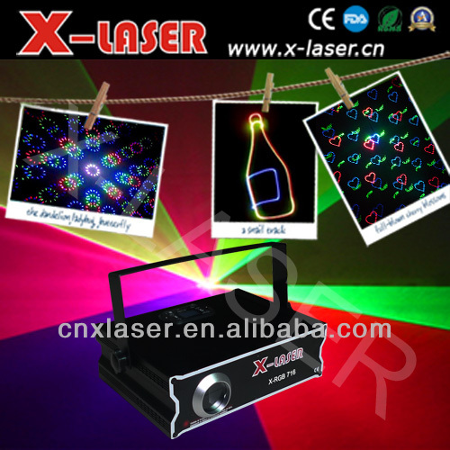 500 mw RGB full color Animation laser light with SD+Animation fireworks+Beam