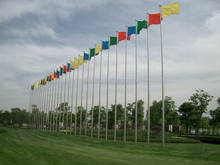 Different heights Stainless Steel Flag Poles
