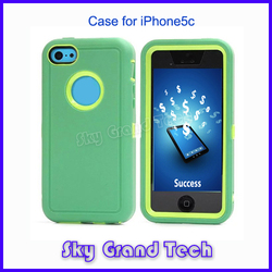 Lovely light blue standing case for iphone5c best quality crazy hot mobile phone case for iphone 5c