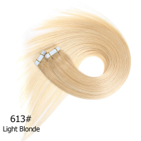 large stock top quality 26 inches tape human hair extensions