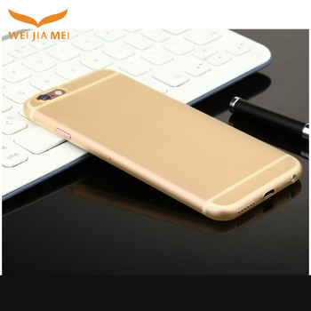 2017 new arrived Ultra thin 0.35mm PP phone case for iPhone 6 case