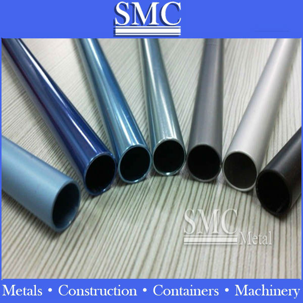 bright dip anodized aluminum pipe