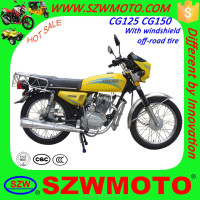 HOT SALE in africa Economic and Classic CG125 CG150 SL125 street motorcycle with windshield