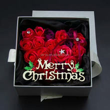 Wholesale Multicolor Soap Flower Christmas Gift Set