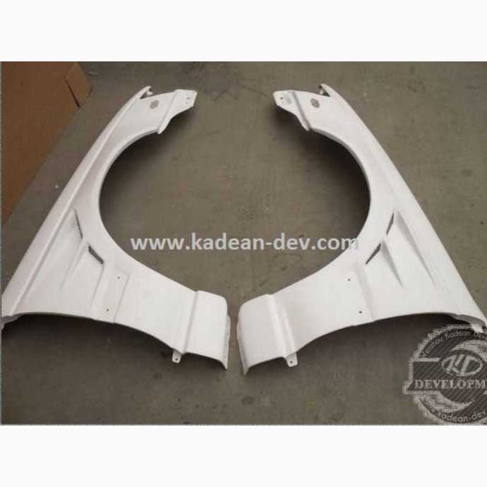 SKYLINE BNR34 R34 GTR BN VENTED FRONT FENDER WIDE TYPE+25mm FRP FIBER