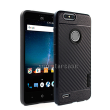 Guangzhou Factory Shockproof Carbon Fiber TPU Mobile Phone Case For ZTE Blade A520