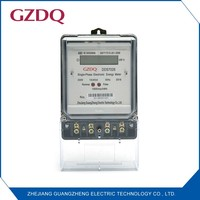 Electricity single phase electronic electric digital kwh meter DDS series