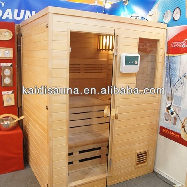 3person Traditional home Sauna room with S/S sauna stove ,3600W(KD-8003SC)
