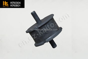 road roller spare parts rubber damper for Bomag BW100 BW120 P/N06118714