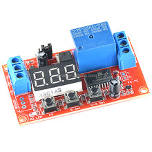 Geree DC 5V 12V 24V delay on/off Cycle timer self locking latching Multifunction trigger relay module