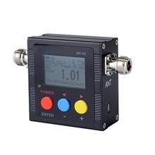 SW-102 Digital Standing Wave Ratio Power Meter for HAM UHF/VHF USB Interface 125-525MHz 120W