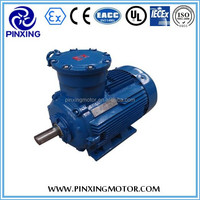Hot product YB3 explosion proof three phase induction/asynchronous motor, energy saving,high efficiency