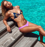 2016 fashion girls bikini wholesale swimming suit plus size bikini swimwear