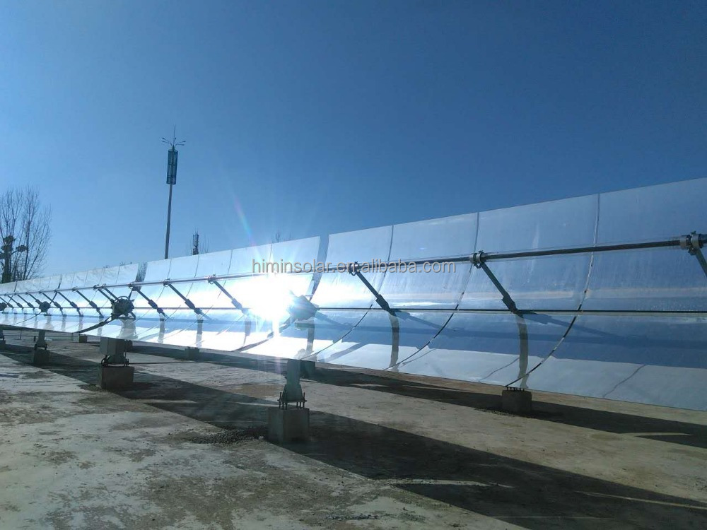 Himin's Parabolic Trough Solar Heating Collector for Industrial and Residential Buildings