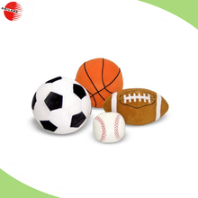 Plush Soft Sports Balls new material 20cm custom basketball pillow& ball shpe pillow