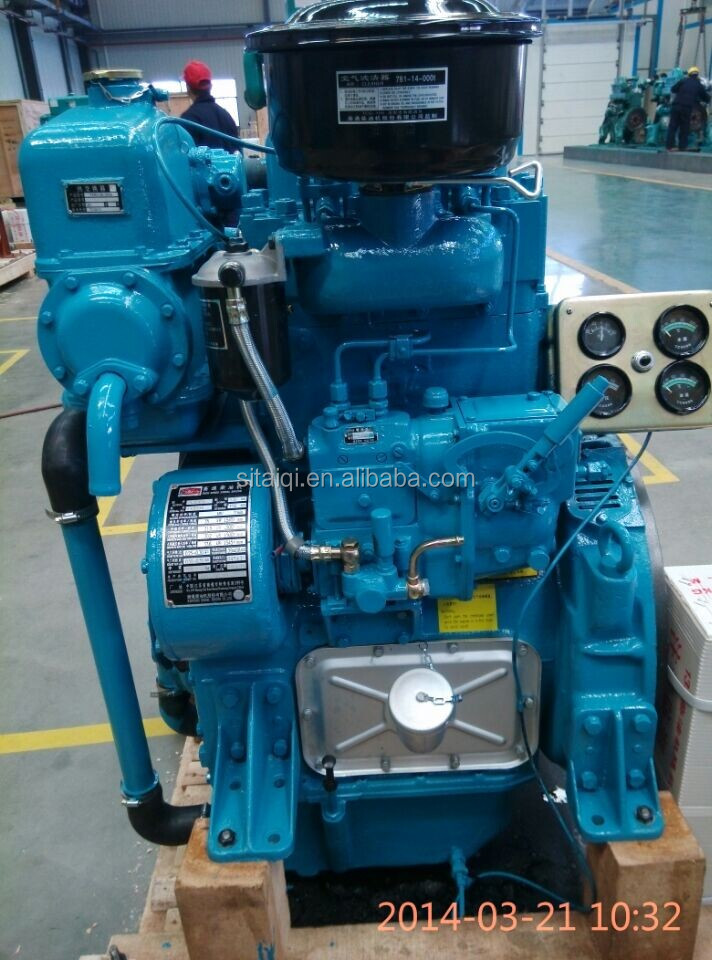 China NANTONG Small Marine Inboard Diesel Engine 2/4cylinder (30hp~100hp)