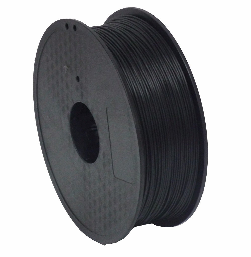 Plastic 3mm Roll ABS Black Electrically Conductive ABS 3D Printer Filament