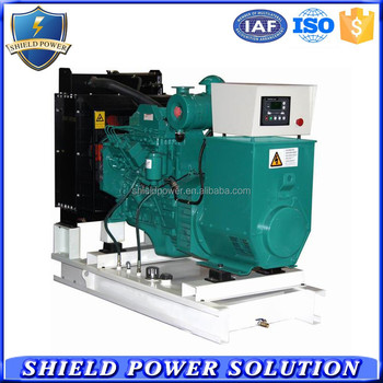 20KW Open Type Diesel Generator Set Soundproof Generator Set Powered by CUMINS Engine