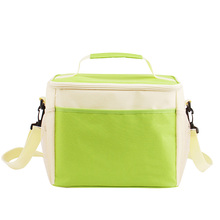 Customized Nylon Fabric Material Insulated Aluminium Foil Liner Ice Lunch Cooler Bag for Picnic