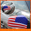 stretchable polyester flag car mirror cover