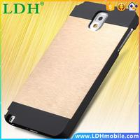 Luxury Slim Aluminum Metal Brush Case For Samsung Galaxy Note 3 III N9000 Hard Phone Back Cover For Galaxy Note 3 Brandnew