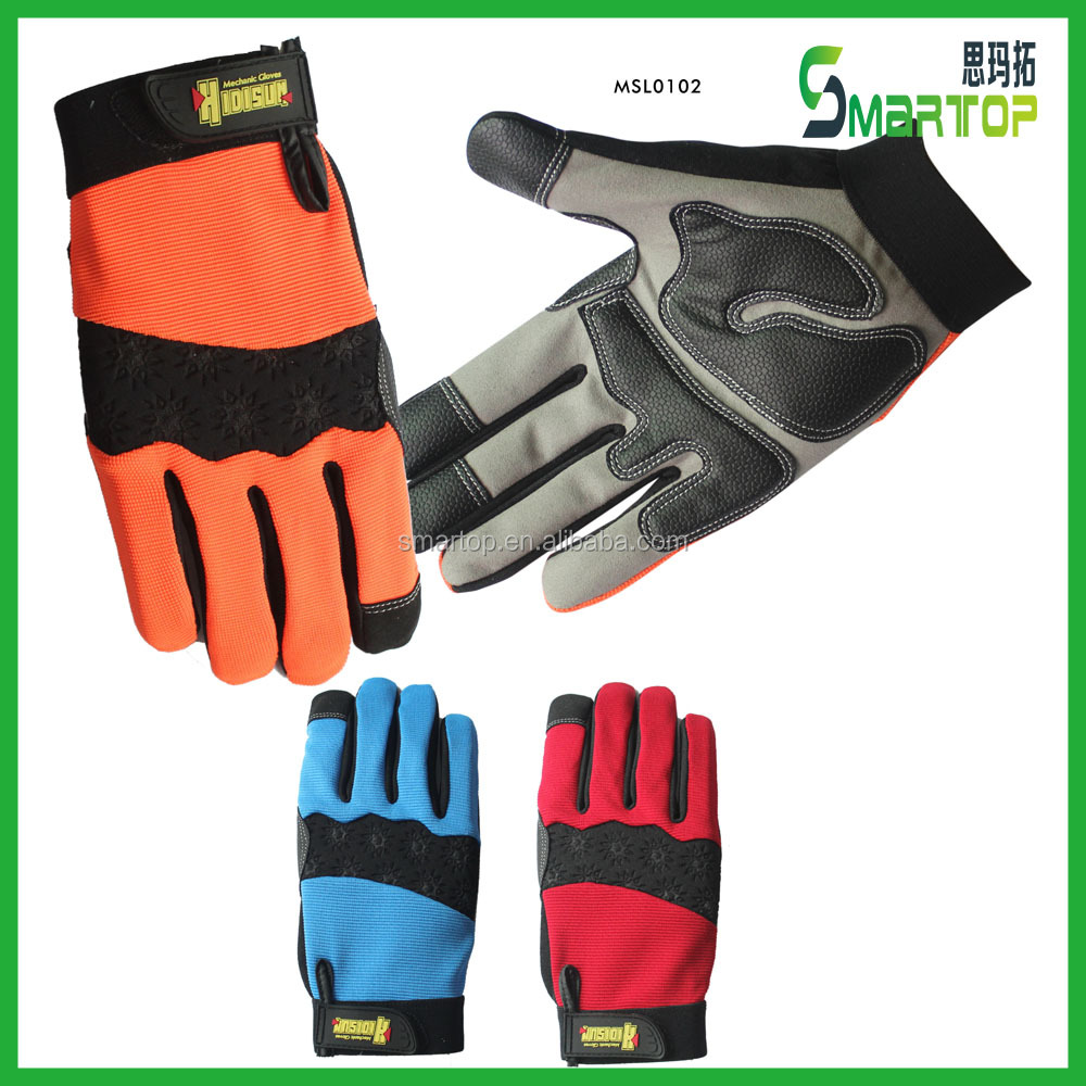 New products on china market comfortable cheap led work gloves