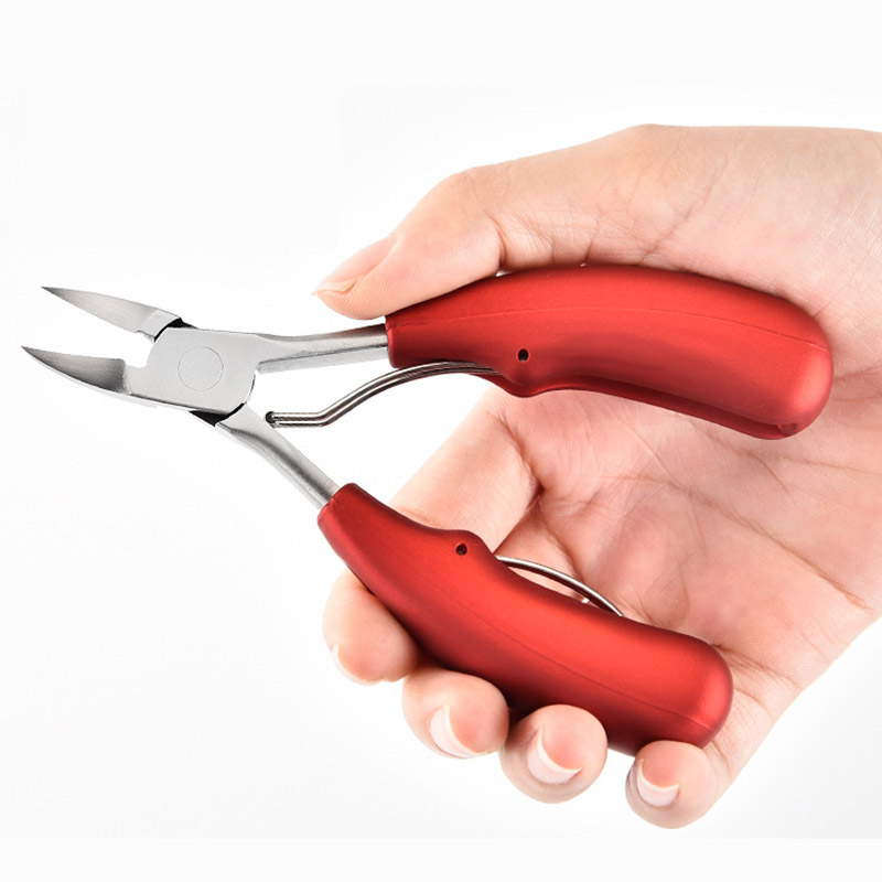 1 Pc Stainless Steel Ingrown Toenail Clipper Podiatry Scissors Pedicure Nippers Manicure Pliers Toe Nails Correction Cutter Tool