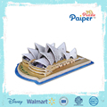 Paiper 3d paper puzzle china import toys
