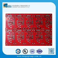 Electronic Double-sided led light pcb and pcba assembly