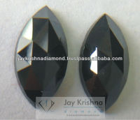 Excellent Quality Natural Black Marquise Cut Diamonds for Jewelry