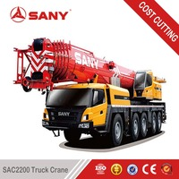 SANY SAC2200 220 Ton High efficiency Truck Mounted Crane Mobile with CE Certification