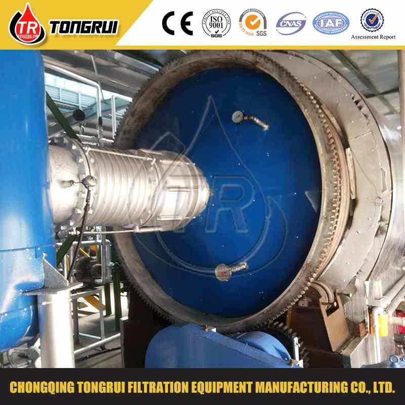 used tyre pyrolysis oil distillation machine