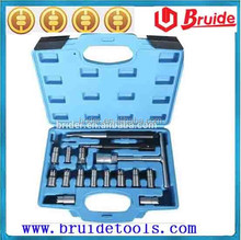 17pcs Diesel Injector Seat Cutter set(B1017B) For Car Repair Tool