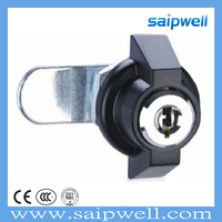 SAIPWELL 2014 Newest Industrial cabinet cylinder locks for lockers