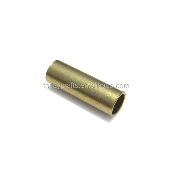 5x0.4x15mm Factory price brass raw colour Jewelry Findings liquid small hollow brass tube