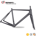 Dengfu New BB30 BSA Carbon Disc Cyclocross Bike Frame&Fork Flat Mount Brake CX Bicycle Framesets CX535