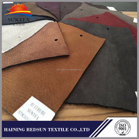 china supplier haining 100 polyester knitted suede fabric