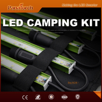 PanaTorch Hot Selling Led Emergency Light Kit IP65 Waterproof PS-B5221A car charged with cigarette lighter with padded carry bag